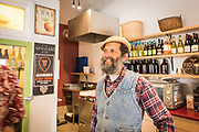 Roger Wechsler, co-owners and operator of Samish Bay Cheese