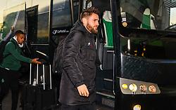 February 13, 2019 - Saint Etienne, France - Mathieu Debuchy ( Saint Etienne ) - Arrivee des joueurs de ASSE (Credit Image: © Panoramic via ZUMA Press)