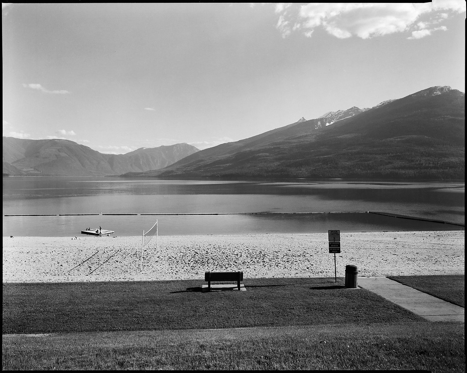 Swimming Beach, Upper Arrow Lake, Nakusp, BC