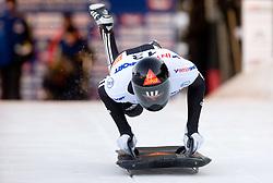 Ben Sandford of New Zeland competes during 1st Run of FIBT Bob & Skeleton World Cup Innsbruck-Igls race on January 23, 2009 in Igls, Innsbruck, Austria. (Photo by Vid Ponikvar / Sportida)