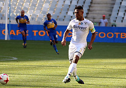 Thulani Hlatshwayo in the MTN8 semi-final first leg match between Cape Town City and Bidvest Wits at the Cape Town Stadium on Sunday 27 August 2017.