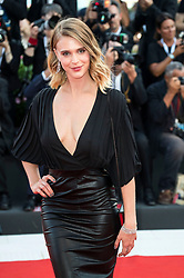 August 29, 2018 - Venice, Venetien, Italien - Gaia Weiss attending the 'First Man' premiere at the 75th Venice International Film Festival at the Palazzo del Cinema on August 29, 2018 in Venice, Italy. (Credit Image: © Future-Image via ZUMA Press)