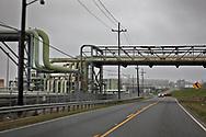 Marathon Refinery on River Road in Gramcery, LA.