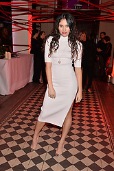 ELIZA DOOLITTLE at the Tunnel of Love art and fashion auction and dinner in aid of the British Heart Foundation held at One Mayfair, London on 12th November 2013.