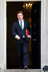 © licensed to London News Pictures. London, UK 18/03/2015. Treasury Secretary Danny Alexander attending to a cabinet meeting in Downing Street on the Budget Day, Wednesday, 18 March 2015. Photo credit: Tolga Akmen/LNP