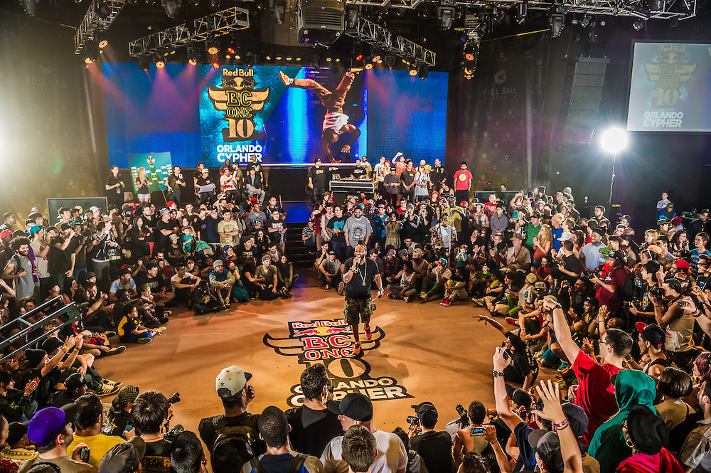 MC Supernatural performs at RedBull BCOne Cypher in Orlando, Florida on June 30th 2013.