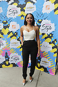 13 September-Brooklyn, New York:  Recording Artist/Actress Mel B attends the Essence Street Style Block Party held at The Dumbo Archway Under the Manhattan Bridge on September 13, 2015 in the DUMBO section of Brooklyn, New York.   (Photo by Terrence Jennings/terrencejennings.com)