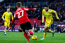 Liam Sercombe of Bristol Rovers takes on Max Power of Sunderland - Mandatory by-line: Robbie Stephenson/JMP - 15/12/2018 - FOOTBALL - Stadium of Light - Sunderland, England - Sunderland v Bristol Rovers - Sky Bet League One