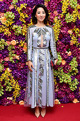 Jing Lusi attending the Crazy Rich Asians Premiere held at Ham Yard Hotel, London.