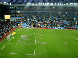 11 February 2017 - Skybet Championship - Aston Villa v Ipswich Town - Players move across the pitch as caught by a slow shutter - Photo: Paul Roberts / Offside