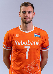 Gijs Jorna of Netherlands, Photoshoot selection of Orange men's volleybal team season 2021on may 11, 2021 in Arnhem, Netherlands (Photo by RHF Agency/Ronald Hoogendoorn)