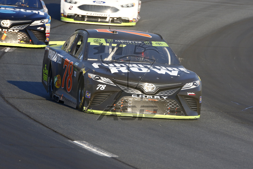 September 24, 2017 - Loudon, New Hampshire, USA: The Monster Energy Cup Series teams take to the track for the ISM Connect 300 at New Hampshire Motor Speedway in Loudon, New Hampshire.
