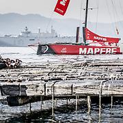 © María Muiña I MAPFRE: El MAPFRE acompaña la Parada de La Escuela Naval Militar de Marín con motivo de la celebración de los tres siglos de la Real Compañía de Guardiamarinas.