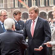 NLD/Den Haag/20171221 - Koning bij sluitingsceremonie Joegoslavie tribunaal, Koning Willem Alexander