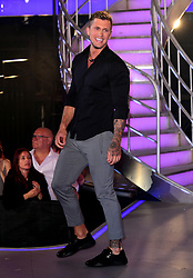 Dan Osborne leaves the house after finishing in third place during the live final of Celebrity Big Brother at Elstree Studios, Hertfordshire.