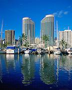 Prince Hotel, Waikiki, Oahu, Hawaii, USA