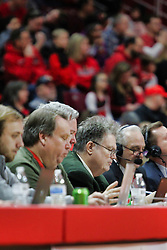 NORMAL, IL - December 16: Art Sievers during a college basketball game between the ISU Redbirds and the Cleveland State Vikings on December 16 2018 at Redbird Arena in Normal, IL. (Photo by Alan Look)