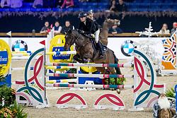 Mezzadri Ilona, FRA, Ken van Orchid<br /> Jumping Mechelen 2019<br /> © Hippo Foto - Sharon Vandeput<br /> 28/12/19