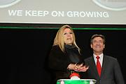 Maxima start WE keep on growing. <br /> <br /> Prinses Maxima geeft in Den Haag in het ministerie van Economische Zaken, Landbouw en Innovatie, het startschot voor het programma WE keep on growing. Het programma beoogt een impuls te geven aan meer succes en groei bij vrouwelijke ondernemers door middel van mentoring. <br /> <br /> Maxima starts WE keep on growing.<br /> <br /> Princess Maxima gives in The Hague in the Ministry of Economic Affairs, Agriculture and Innovation, will kick off the program WE keep on growing. The program aims at encouraging more success and growth in female entrepreneurs through mentoring.<br /> <br /> Op de foto / On the Photo:  Prinses Maxima en Maxime Verhagen