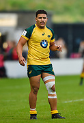 Australia centre Sione Tuipolotu during the World Rugby U20 Championship  match England U20 -V- Australia U20 at The AJ Bell Stadium, Salford, Greater Manchester, England on June  15  2016, (Steve Flynn/Image of Sport)