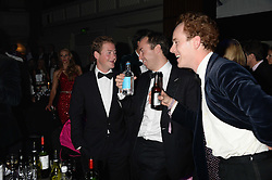 British fine jewellery brand Boodles welcomed guests for the 2013 Boodles Boxing Ball in aid of Starlight Children's Foundation held at the Grosvenor House Hotel, Park Lane, London on 21st September 2013.<br /> Picture Shows:-GUY PELLY, JAMIE MURRAY-WELLS and TOM INSKIP.<br /> <br /> Press release - https://www.dropbox.com/s/a3pygc5img14bxk/BBB_2013_press_release.pdf<br /> <br /> For Quotes  on the event call James Amos on 07747 615 003 or email jamesamos@boodles.com. For all other press enquiries please contact luciaroberts@boodles.com (0788 038 3003)