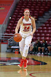 10 December 2017: Megan Talbot during an College Women's Basketball game between Illinois State University Redbirds and the Eagles of Eastern Michigan at Redbird Arena in Normal Illinois.
