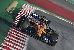 February 18, 2019 - Barcelona, Catalonia, Spain - CARLOS SAINZ (ESP) from team McLaren drives in his in his MCL34 during day one of the Formula One winter testing at Circuit de Catalunya (Credit Image: © Matthias Oesterle/ZUMA Wire)