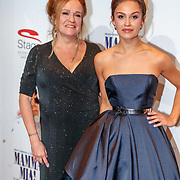 NLD/Utrecht/20180923 - Premiere Mamma Mia, moeder Xandra Brood - Janssen en dochter actrice Holly Mea Brood