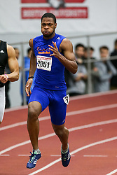 Roberts, unattached, 200, wins<br /> Boston University Athletics<br /> Hemery Invitational Indoor Track & Field
