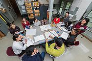 Students at  PrattMWP, October 1, 2018 in Utica, N.Y.<br /> Mark DiOrio / Colgate University