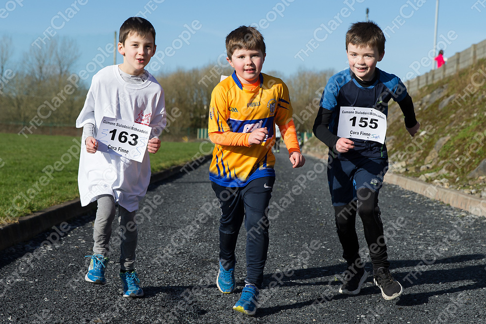Ross O'Connor, Luke Curtis and Darragh Masterson from Ruan