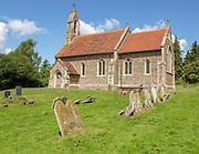 Village parish church of Saint Mary, Willisham, Suffolk, England, UK