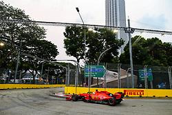 September 20, 2019, Singapore, Singapore: Motorsports: FIA Formula One World Championship 2019, Grand Prix of Singapore, .#5 Sebastian Vettel (GER, Scuderia Ferrari Mission Winnow) (Credit Image: © Hoch Zwei via ZUMA Wire)