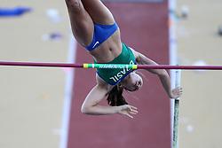Fabiana Murer participa da prova de salto com vara dos Jogos Pan-Americanos de Guadalajara 2011. FOTO: Jefferson Bernardes/Preview.com