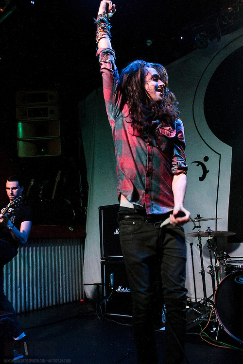 Mayday Parade performing live at The Sugarmill, Stoke-on-Trent, 2014-01-24
