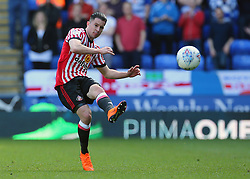 Sunderland's Bryan Oviedo knocks the ball forward