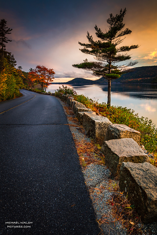"""TO PURCHASE: Simply click """"Add to Cart"""" to see prints and products available.<br /> <br /> Also follow me on facebook at Michael Walsh or instagram at michaelwalshpictures.<br /> <br /> Mt Desert Island is located off the coast of the great state of Maine.<br /> It's notorious for hosting the stunning Acadia National Park.<br /> <br /> But outside of the park Mt. Desert Island has a stunning landscape and lifestyle all to it's own that often gets mixed together with the park.<br /> <br /> This image was captured on the quintessential Sargent Drive located down the eastern side of Somes Sound on Mt. Desert Island.<br /> <br /> Camera Data:<br /> f/13, 0.3sec, 28mm, ISO100<br /> RAW, Manual Mode, Evaluative Metering<br /> Tripod, Bare Glass, Lr<br /> Canon 5ds, Canon EF 24-105mm<br /> <br /> High Image Resolution"""