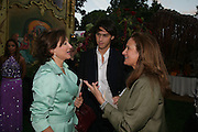 Dorit Zarach ( DORIT MOUSAIEFF ) and Sebastian Botana, QUINTESSENTIALLY AND ELEPHANT FAMILY TRUNK SHOW PARTY. SERPENTINE PAVILION, HYDE PARK. 16 SEPTEMBER 2007. -DO NOT ARCHIVE-© Copyright Photograph by Dafydd Jones. 248 Clapham Rd. London SW9 0PZ. Tel 0207 820 0771. www.dafjones.com.