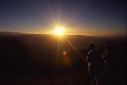 Sunset, Waimea Canyon, Kauai, Hawaii<br />