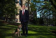 Mark DiOrio<br /> Portrait of Brian W. Casey, President at Colgate University, June 7, 2017 in Hamilton, N.Y.