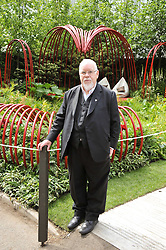 SIR PETER BLAKE at the 2011 RHS Chelsea Flower Show VIP & Press Day at the Royal Hospital Chelsea, London, on 23rd May 2011.