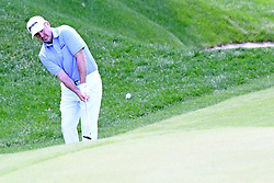 June 25, 2017 - Cromwell, Connecticut, U.S - Rod Pampling chips onto the 15th green during the final round of the Travelers Championship at TPC River Highlands in Cromwell, Connecticut. (Credit Image: © Brian Ciancio via ZUMA Wire)
