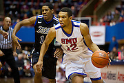 DALLAS, TX - JANUARY 6:  Nick Russell #12 of the SMU Mustangs drives to the basket against the Tulsa Golden Hurricane on January 6, 2013 at Moody Coliseum in Dallas, Texas.  (Photo by Cooper Neill/Getty Images) *** Local Caption *** Nick Russell