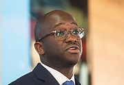 People's Vote speech & Q & A <br /> At Coin Street Neighbourhood Centre, London, Great Britain <br /> 7th January 2019 <br /> <br /> Sam Gyimah MP for east Surrey <br /> & former minister of State for Universities, Science, Research and Innovation. <br /> <br /> Lord Patten of Barnes <br /> Former Tory party chairman Chris Patten becomes the latest Conservative to back a Peoples Vote.<br /> <br /> Photograph by Elliott Franks