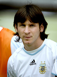 June 30, 2006 - Berlin, TYSKLAND - 060630 Fotboll, VM 2006: Lionel Messi, Argentina.© BildbyrŒn - 70217 (Credit Image: © Daniel Nilsson/Bildbyran via ZUMA Press)