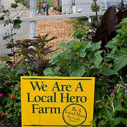 The Nuestras Raices community farm in Holyoke, Massachuestts.