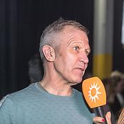 NLD/Amsterdam/20190228  - Lil Kleines kledinglijnlancering Jorik SS19, Vader van Lil Kleine - Maarten Scholten