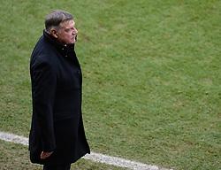 West Ham Manager, Sam Allardyce - Photo mandatory by-line: Alex James/JMP - Mobile: 07966 386802 - 25/01/2015 - SPORT - Football - Bristol - Ashton Gate - Bristol City v West Ham United - FA Cup Fourth Round