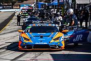 October 30-Nov 1, 2020. Race 2, Lamborghini Super Trofeo, Weathertech Raceway Laguna Seca:  286 Mel Johnson, Jon Hirshberg, US RaceTronics, Lamborghini Newport Beach, Lamborghini Huracan Super Trofeo EVO
