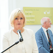 30.05. 2017.                                             <br /> Limerick Museum opened the doors to its new home at the former Franciscan Friary on Henry Street in the heart of Limerick city, dedicated to the memory of Jim Kemmy, the former Democratic Socialist Party and Labour Party TD for Limerick East and two-time Mayor of Limerick.<br /> <br /> Pictured at the opening of the new Museum was Cllr. Josephine Cotter Coughlan.<br /> <br /> The museum will house one of the largest collections of any Irish museum. Picture: Alan Place